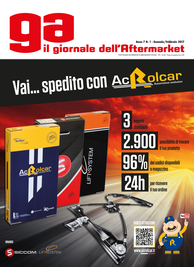 Ac Rolcar Giornale dell'aftermarket